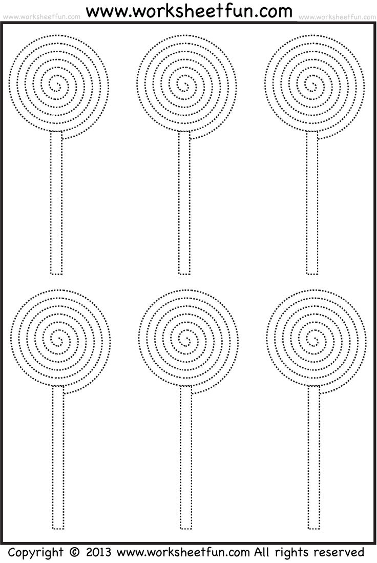 354 best images about Fine Motor: Tracing Sheets on