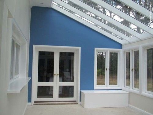 Glass Conservatory Feature Wall Pic 5Glass