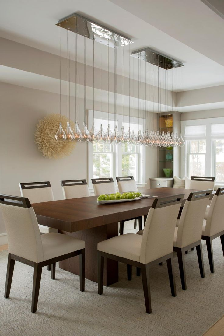 25 best ideas about Modern dining table on Pinterest  Modern dining room lighting