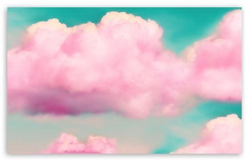 Cute Girly Chevron Wallpapers Clouds 3d Effect Wallpaper Wolken Pinterest Pink D