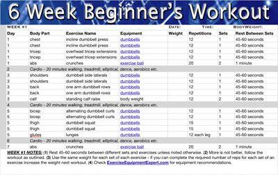 Beginner Workout Men Yourviewsite Co Fitness Program