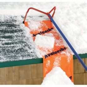 Get A Roof Rake To Prevent An Ice Dam An Ice And Snow