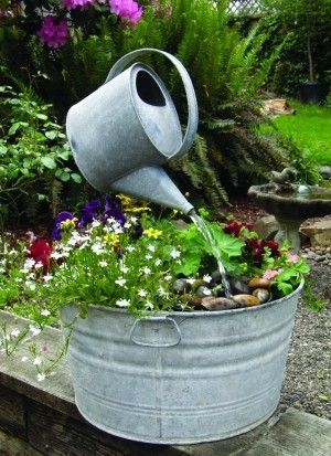 25 Best Ideas About Homemade Water Fountains On Pinterest
