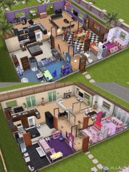 sims freeplay play plans houses floor layouts homes haunted recreated casa designer