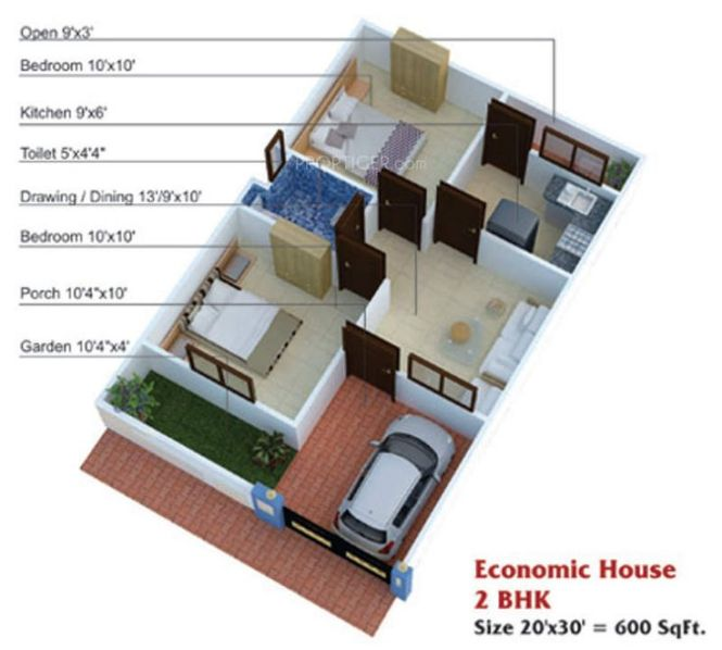 600 Sq Ft House Plans 2 Bedroom Indian Style Home Designs The 25 Best Ideas