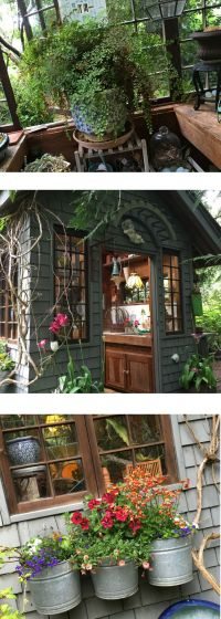 25+ beautiful Potting sheds ideas on Pinterest | Rustic ...