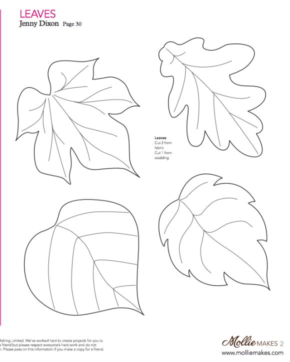 Best 25+ Leaf template ideas on Pinterest