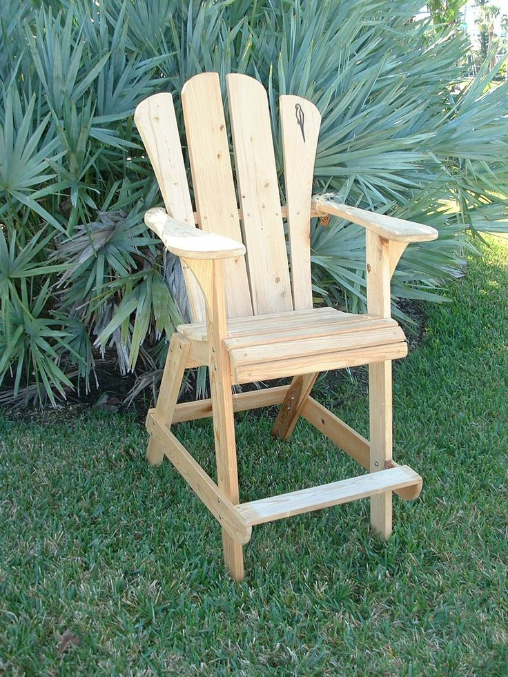 Free Adirondack Bar Stool Plans  WoodWorking Projects  Plans