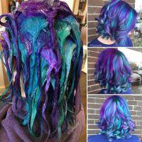 17 Best ideas about Blue Purple Hair on Pinterest