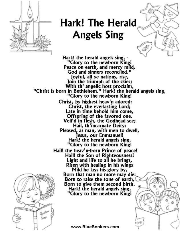 71 best images about Christmas Carol Lyrics on Pinterest