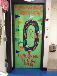 17 Best images about Drug free door decoration ideas on ...