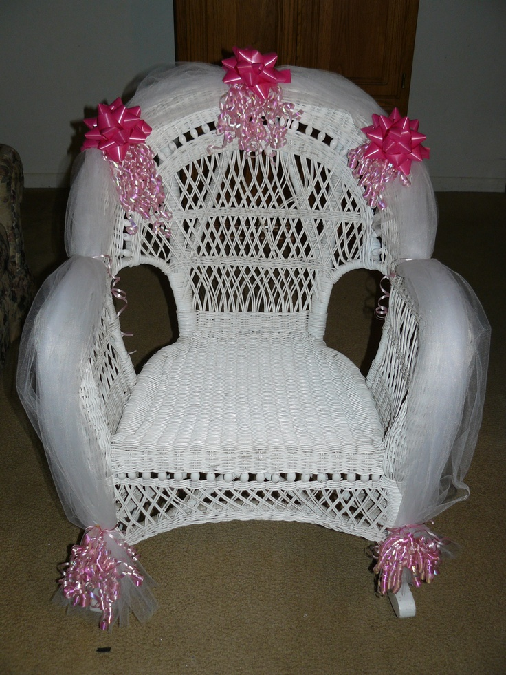 baby shower chair rental patio swing with canopy for the mother to be | things i have made pinterest be, rocking chairs ...