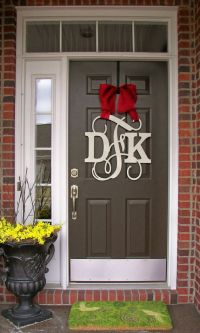 25+ best ideas about Front Door Letters on Pinterest