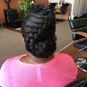 goddess braids updo ideas