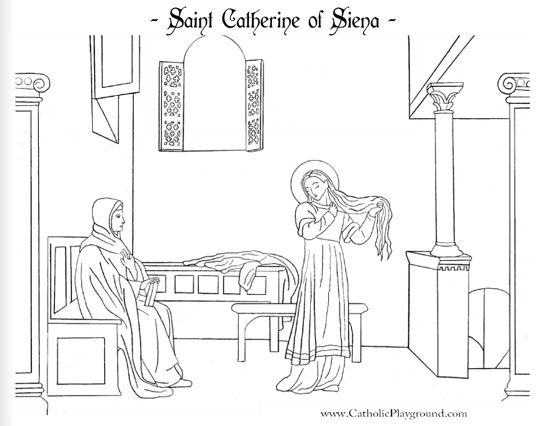185 best images about Catholic Coloring Pages on Pinterest
