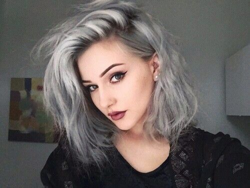 25 Best Ideas About Gray Hairstyles On Pinterest Grey Hairstyle