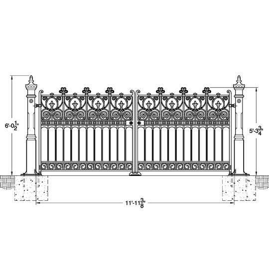 1000+ images about Gates, Fences, Balusters, on Pinterest
