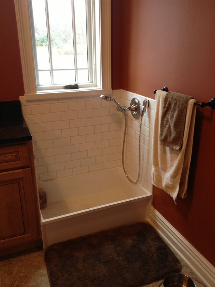 Dog wash station We would be going crazy without this in our house  Home  Pinterest