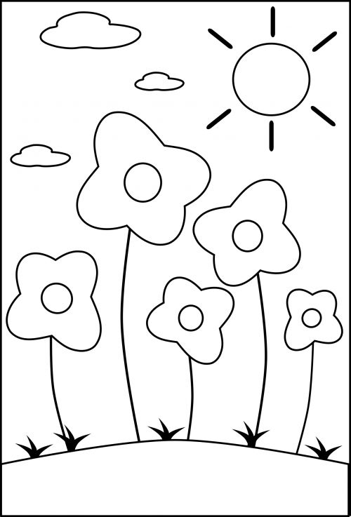 17 Best images about Seasons of the Year Coloring Pages on