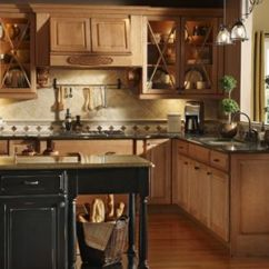 Kraftmaid Kitchens Gallery Kitchen Cabinets Indianapolis Montclair Maple In Burnished Ginger. I Like The ...