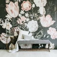 25+ best ideas about Flower Mural on Pinterest | Mural ...