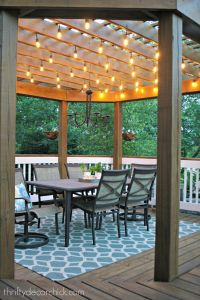 25+ best ideas about Pergola lighting on Pinterest