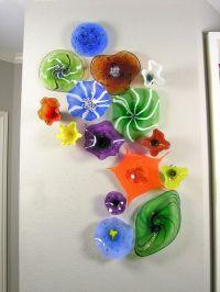 Wall Glass Art - 1000+ ideas about glass wall art on ...
