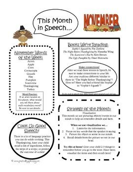 Pre-k through 5Use this one page newsletter as a way to