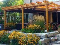 retractable pergola cover that can handle the wind and ...