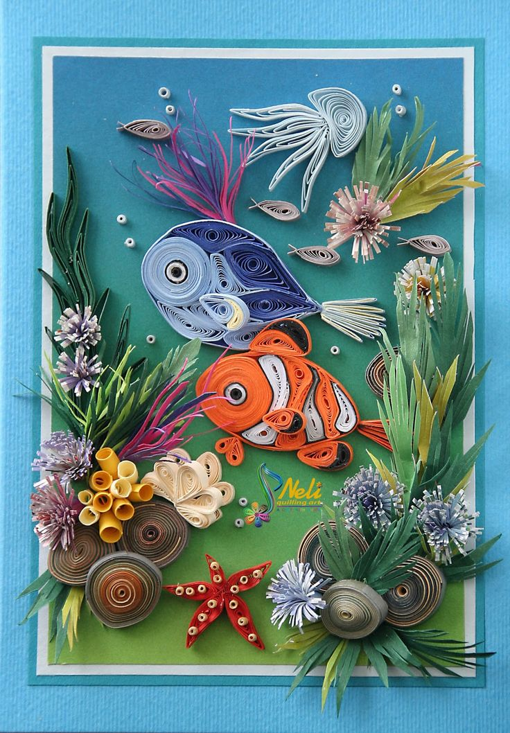 257 Best Images About Quilling Fish Amp Sea Animals On