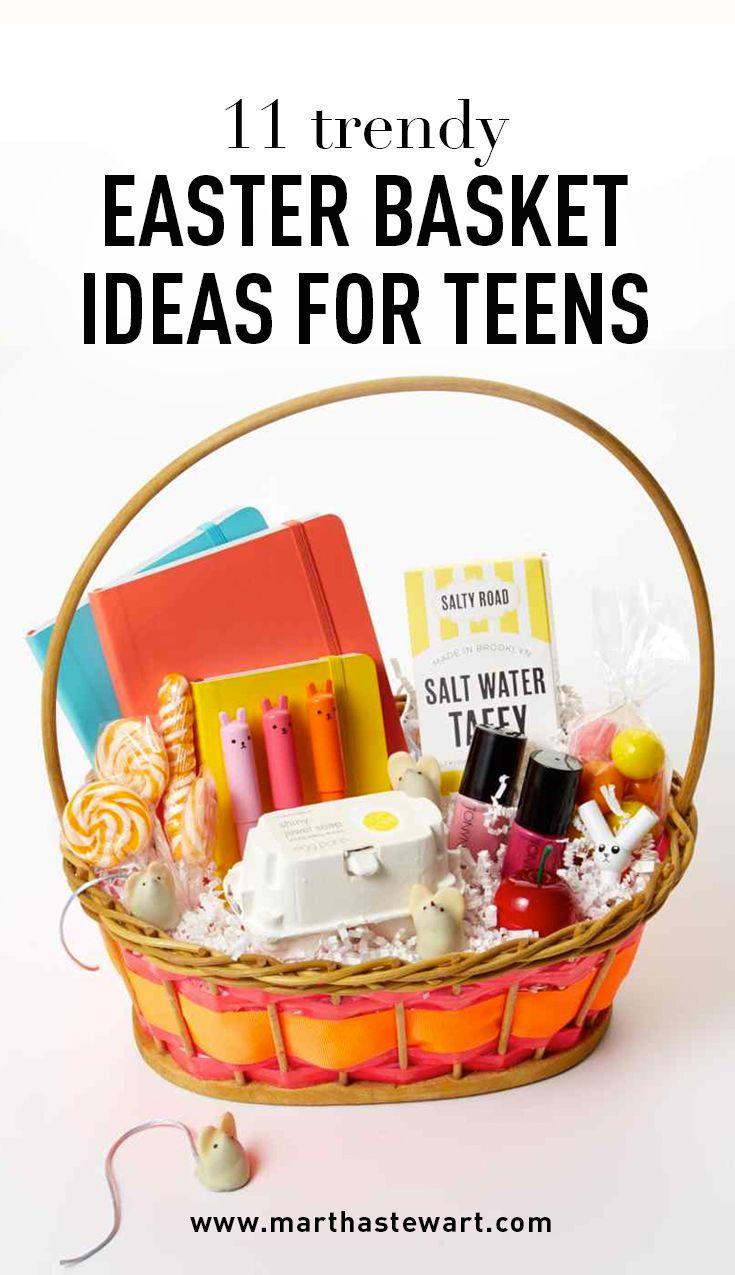 11 Trendy Easter Basket Ideas For Teens Baskets Easter