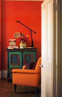1000+ ideas about Orange Chairs on Pinterest | Polka Dot ...