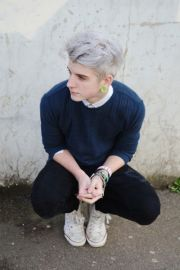 #hipster #men #gray #hair hairography