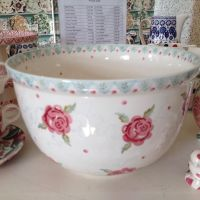 Emma Bridgewater Rose & Bee SAMPLE Mixing Bowl for the ...