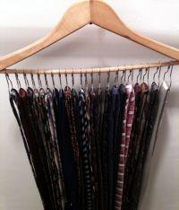 93 best images about Tie Storage Ideas on Pinterest   Tie ...