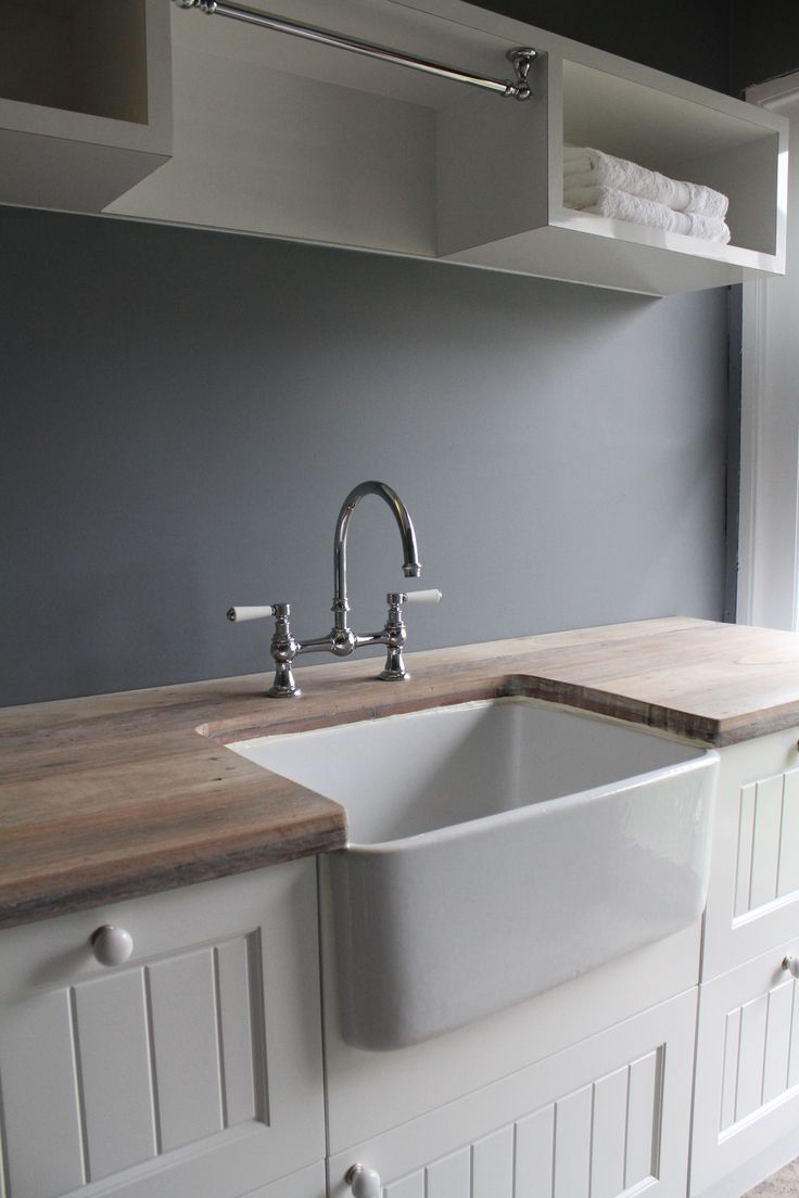 Laundry Sink And Cabinet