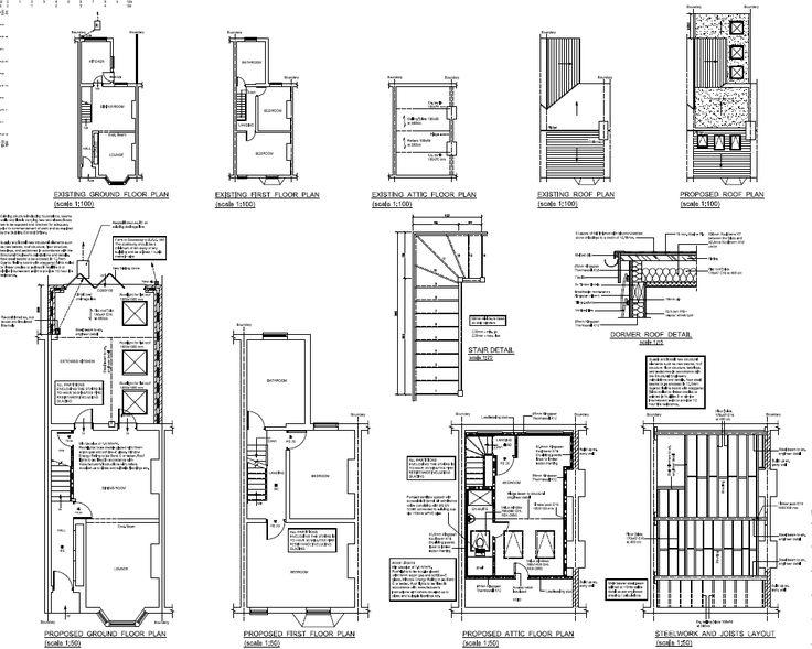 25+ best ideas about Loft conversion plans on Pinterest