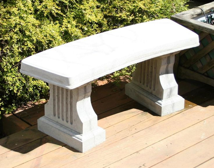 Diy Concrete Bench 41 Quot In Length History Stones Molds