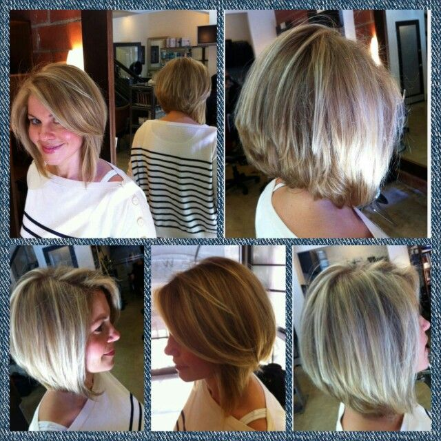 Candace Cameron Bures Short Angled Bob From All Angles