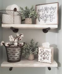 Vintage Rustic Farmhouse Decorating Style: 99 Ideas for ...