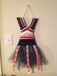 Cheer bow holders, Bow holders and Cheer bows on Pinterest