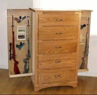 Hidden gun cabinet | Home Improvement | Pinterest | Hidden ...
