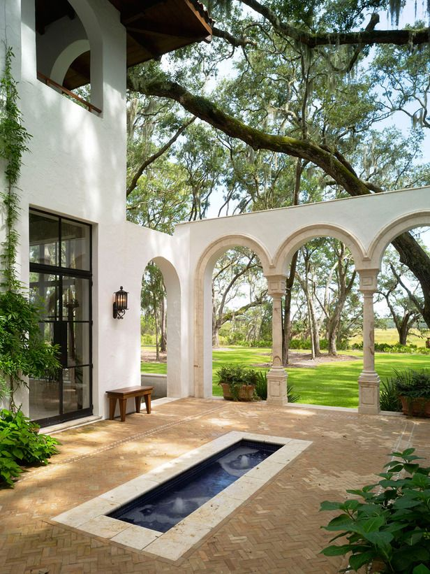 75 Best Images About Spanish Garden On Pinterest Gardens Stucco