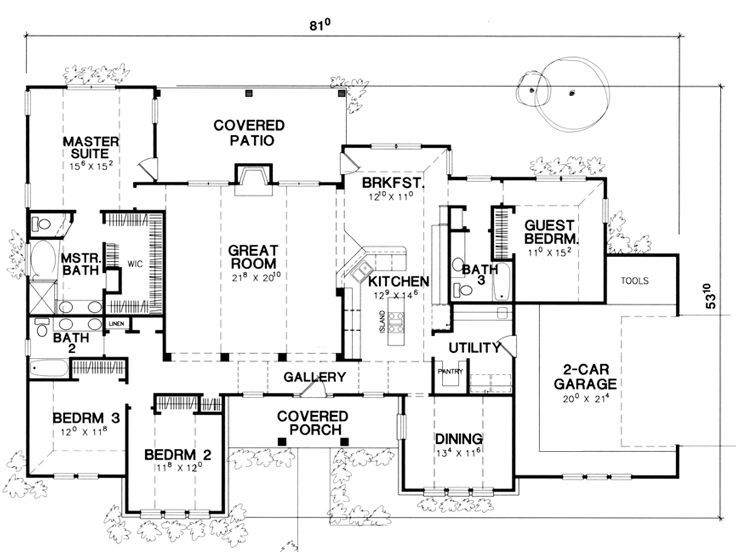 Floor Plan- Single Story This Is It!! Extend The Dining
