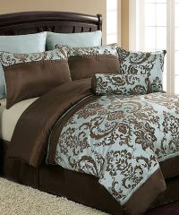 Another great find on #zulily! Blue & Brown Daniella ...