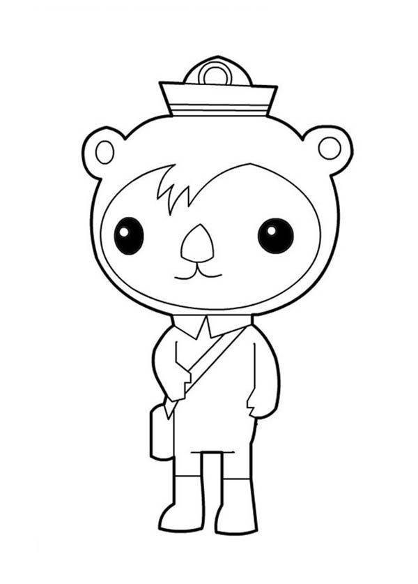 The Octonauts, : Awesome Shellington Sea Otter from The