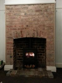 Top 25+ best Exposed brick fireplaces ideas on Pinterest ...