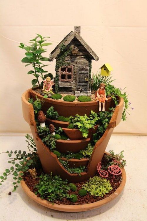 25 Best Ideas About Miniature Gardens On Pinterest Fairy Houses