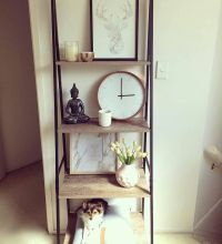 25+ best ideas about Ladder shelf decor on Pinterest