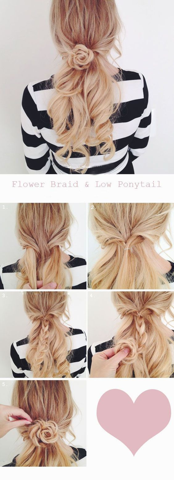 25 Best Ideas About Lazy Day Hairstyles On Pinterest